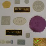Embossed & Hologram Labels
